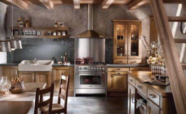 French Rustic Kitchen Decor