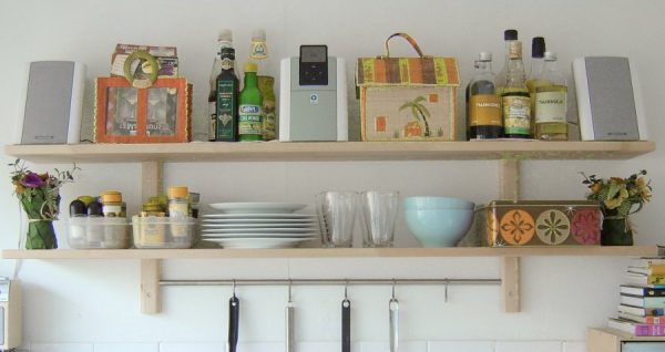 Kitchen Wall Decor Shelves