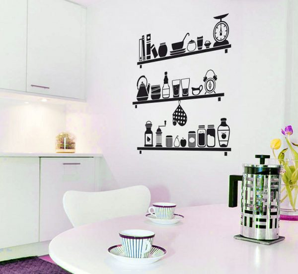 Kitchen Wall Decor Stickers