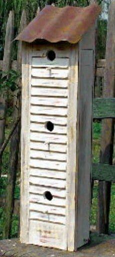 Old Shutter Bird Box
