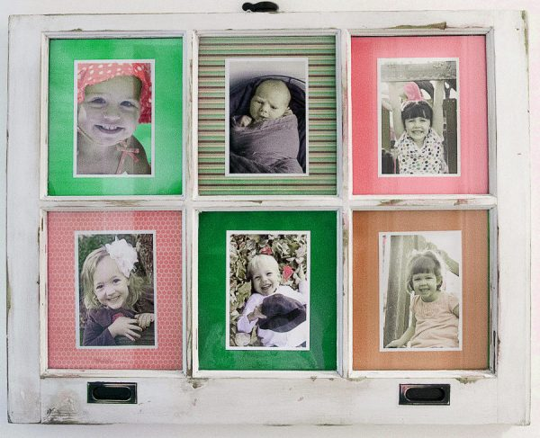 Old Window Panel Picture Frame