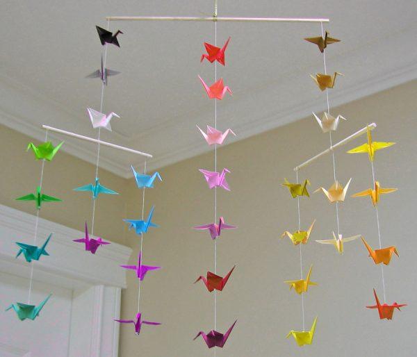 Origami Paper Garland