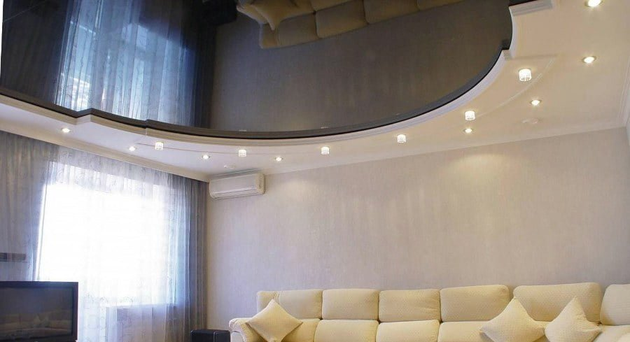50 Unique Ceiling Design Ideas to Update the Forgotten Wall - Big Mirror Ceiling