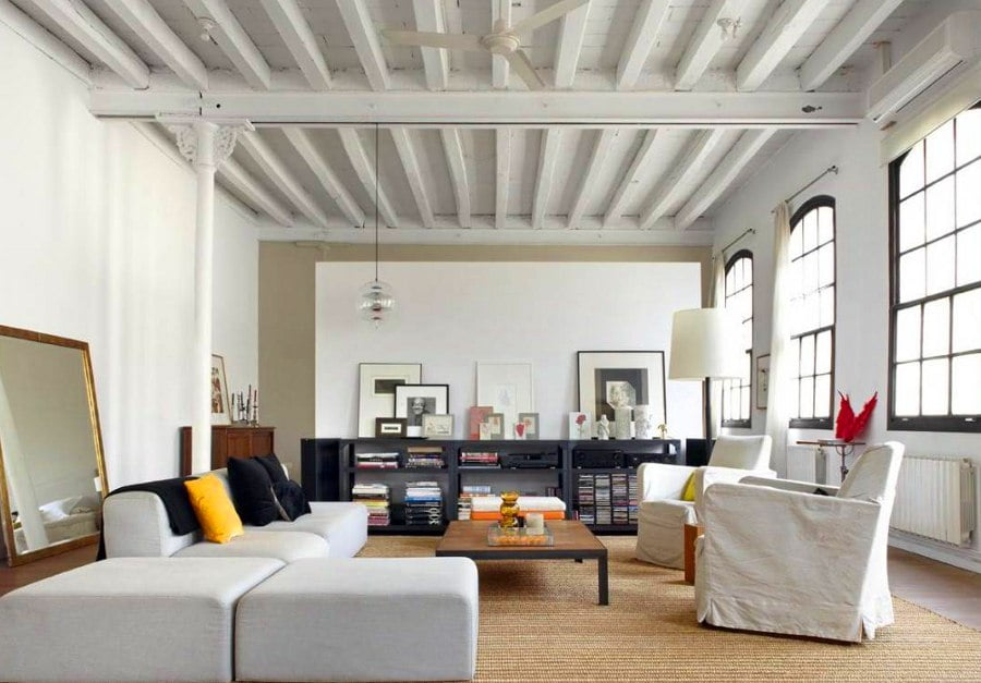 50 Unique Ceiling Design Ideas to Update the Forgotten Wall - Ceiling Beams