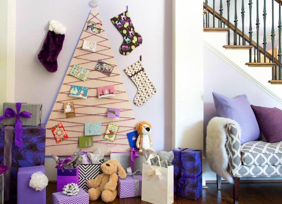 Plywood Christmas Tree Alternative