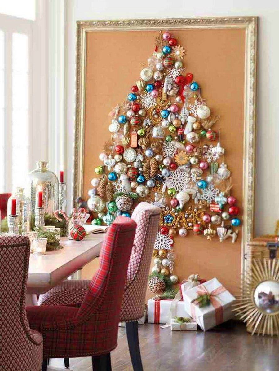 Picture Frame Christmas Tree Alternative