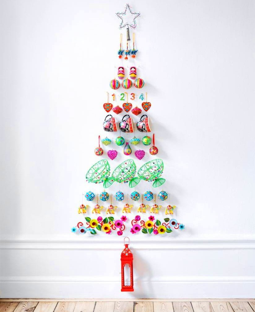 Paper Craft Christmas Tree Alternative