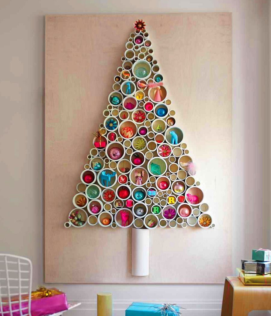 PVC Christmas Tree Alternative