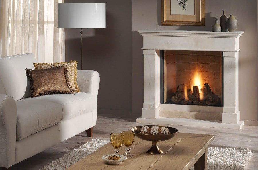 Classic Vintage Fireplace