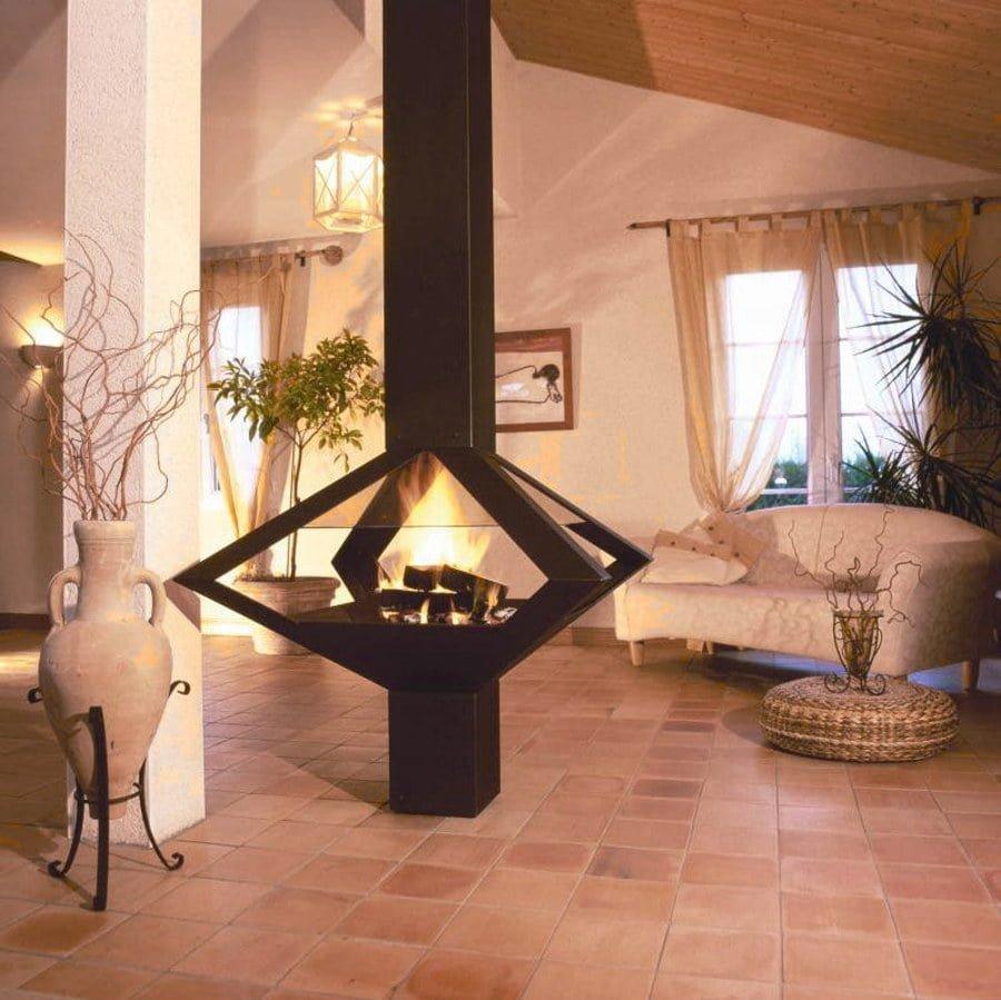 Fireplace Column