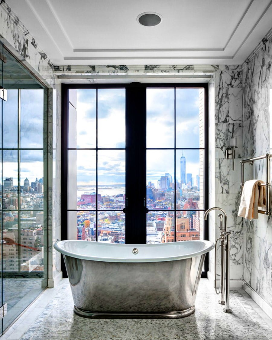 Granite Bathroom with a View