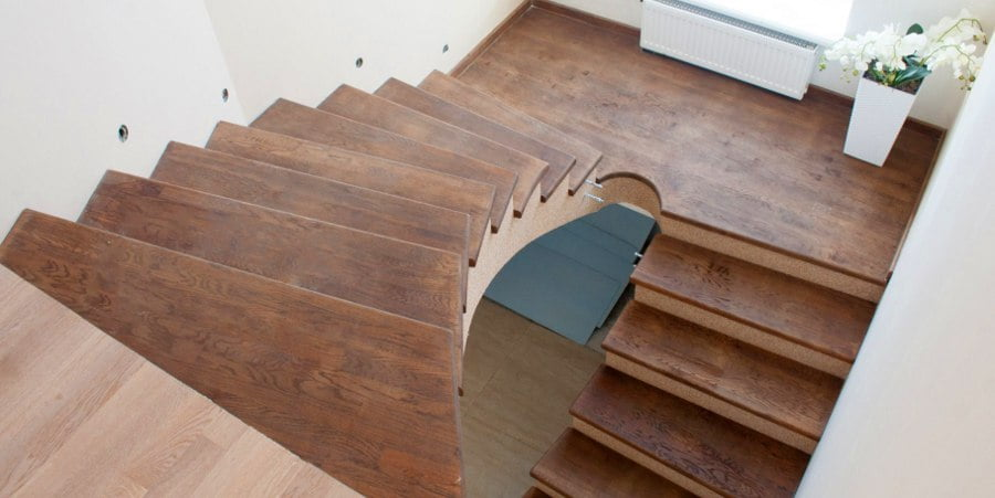 Rounded Design Staircase