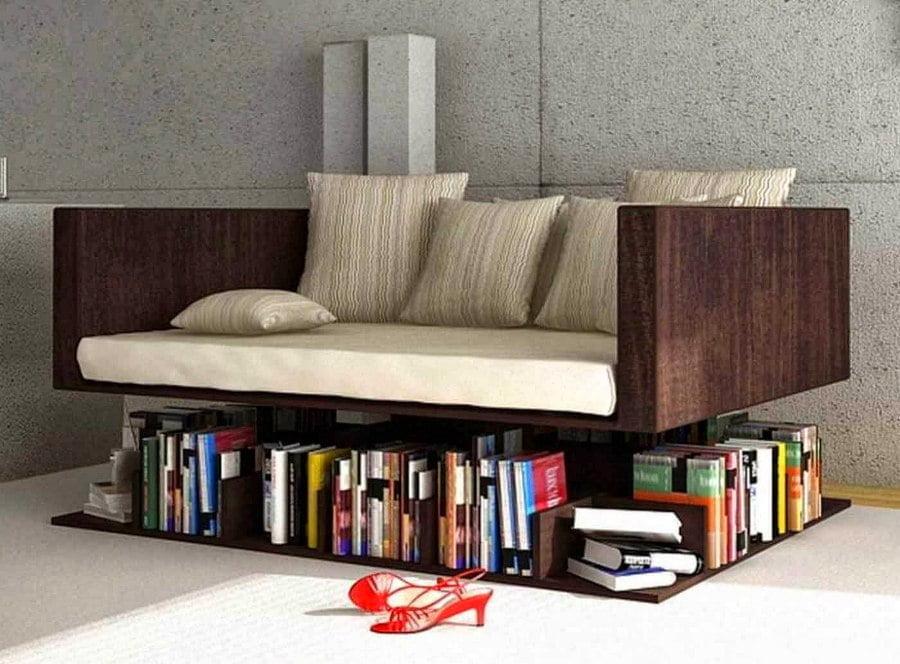 Sofa Storage Bookshelf