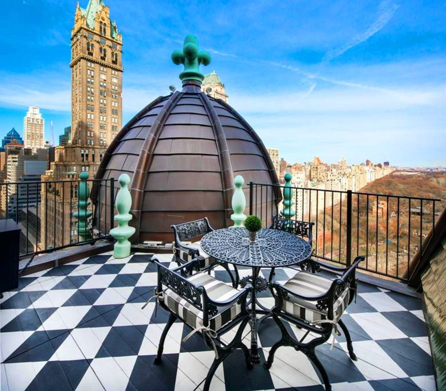 13 Stunning Apartments In New York: 12 Most Beautiful Private Apartment Terraces In New York City
