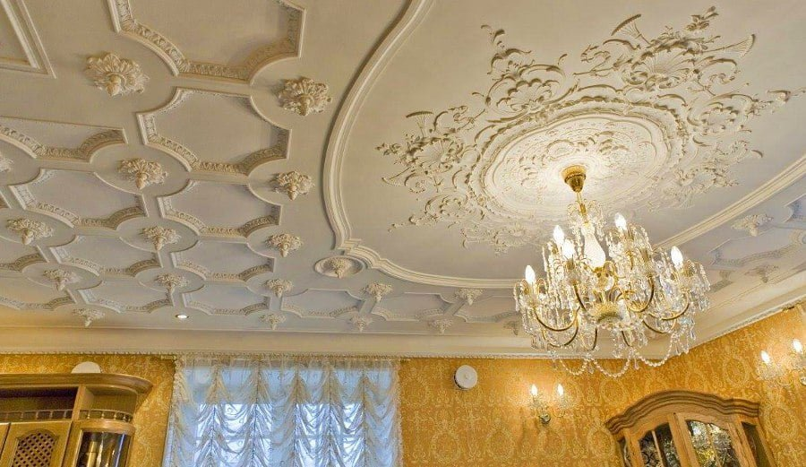50 Unique Ceiling Design Ideas to Update the Forgotten Wall - Vintage Antique Ceiling Design
