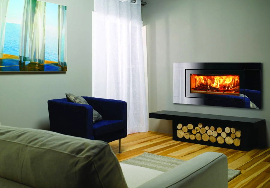 Wall Integrated Fireplace