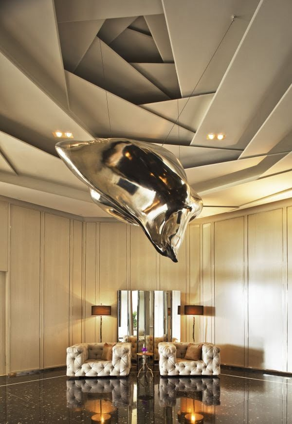 50 Unique Ceiling Design Ideas to Update the Forgotten Wall - Source: www.homedit.com