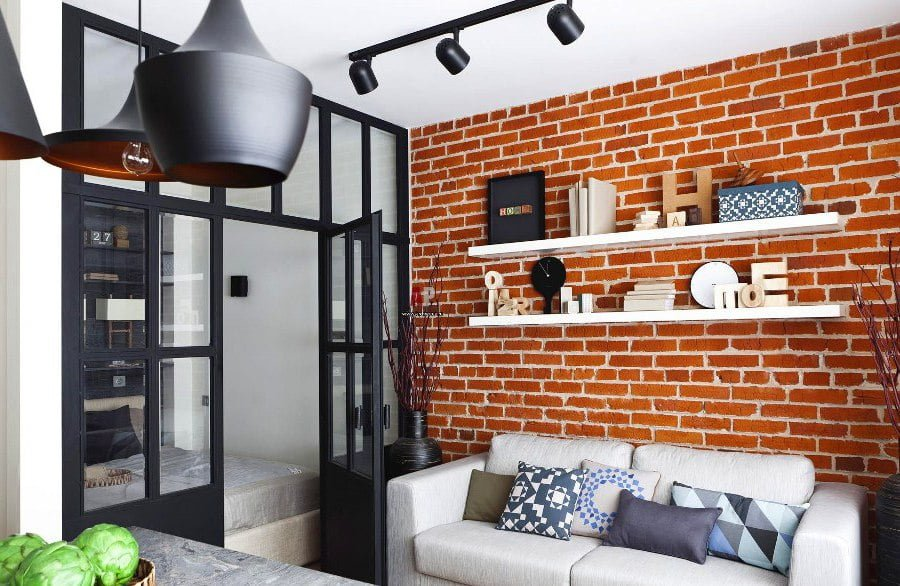 Brick Wall Room Decor