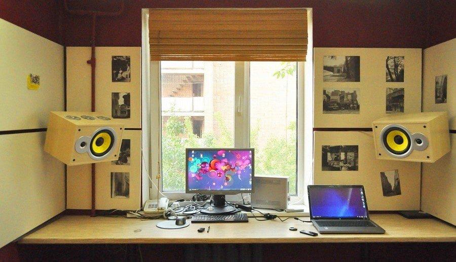 Computer Desk Window Sill
