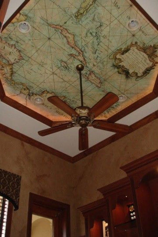 50 Unique Ceiling Design Ideas to Update the Forgotten Wall - Source: www.pinkporch.com