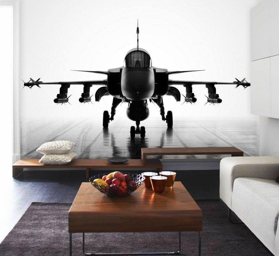 plane-mural