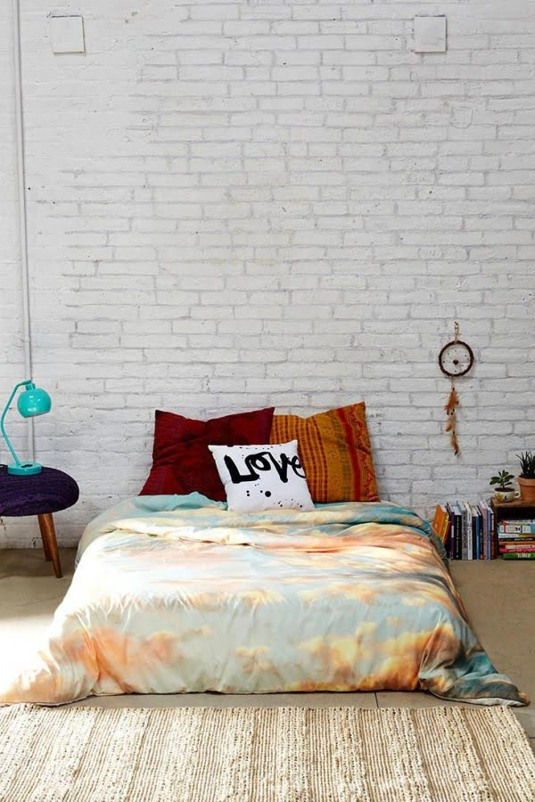 Shannon Clark For DENY Softly Duvet Cover