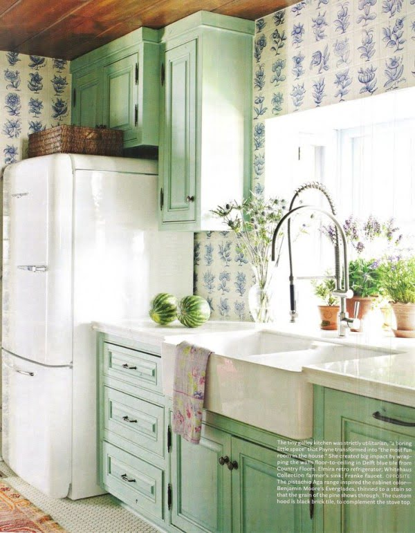Vintage Cabinets #kitchendesign