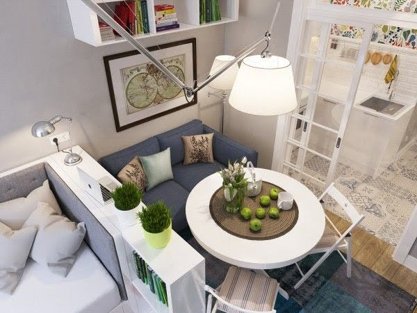 40 Brilliant Ideas to Decorate a Small Space