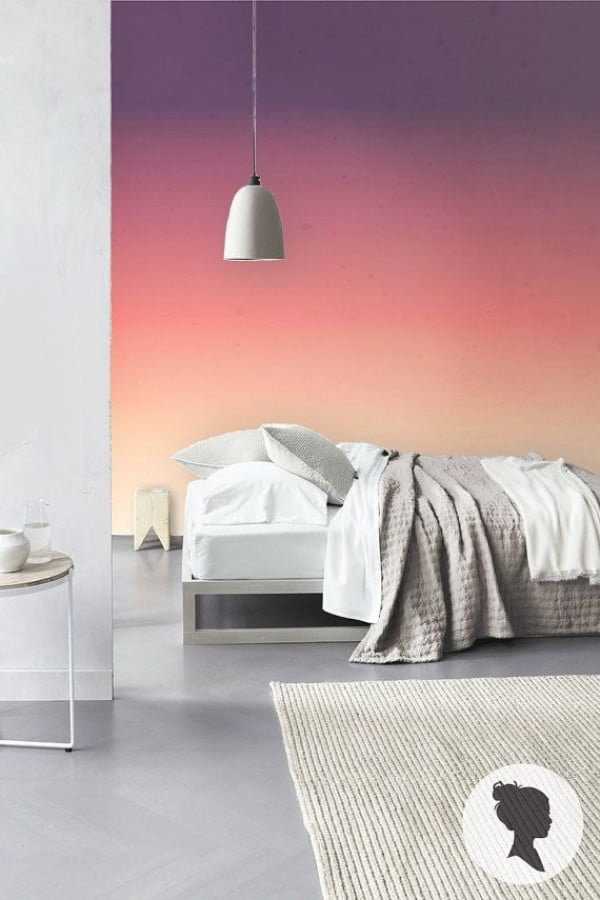 24 Brilliant Eye Catching Ombre Walls