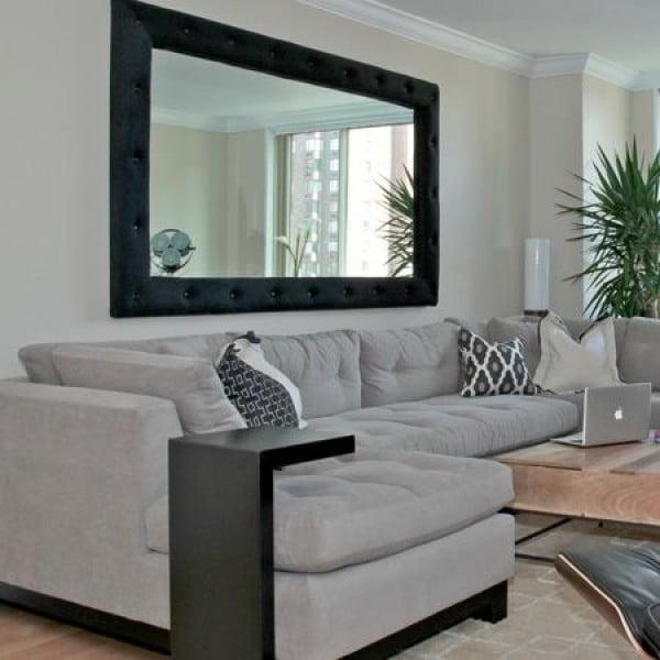 Embrace the Mirrors #livingroomideas #homedecor
