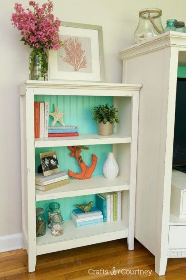 22 Easy DIY Bookshelf Ideas You Can Build at Home - Source: www.craftsbycourtney.com