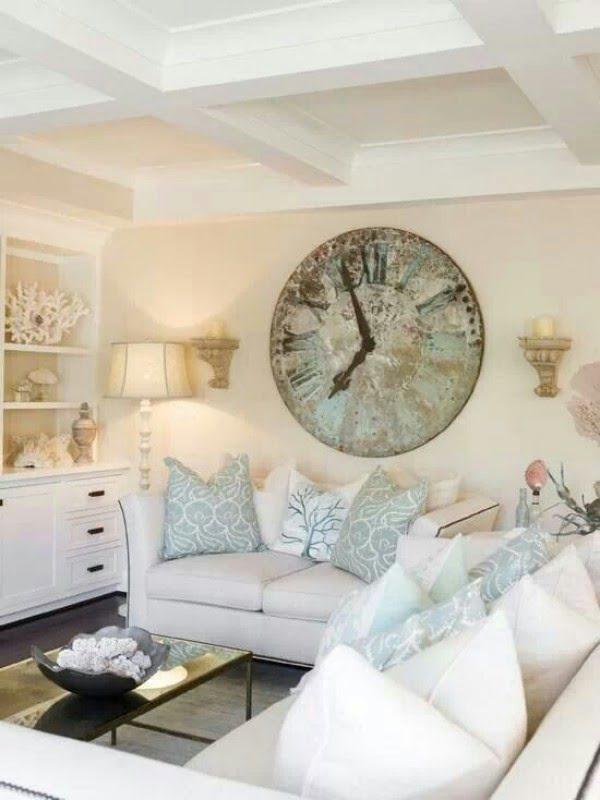 Use Unique Wall Art #livingroomideas #homedecor