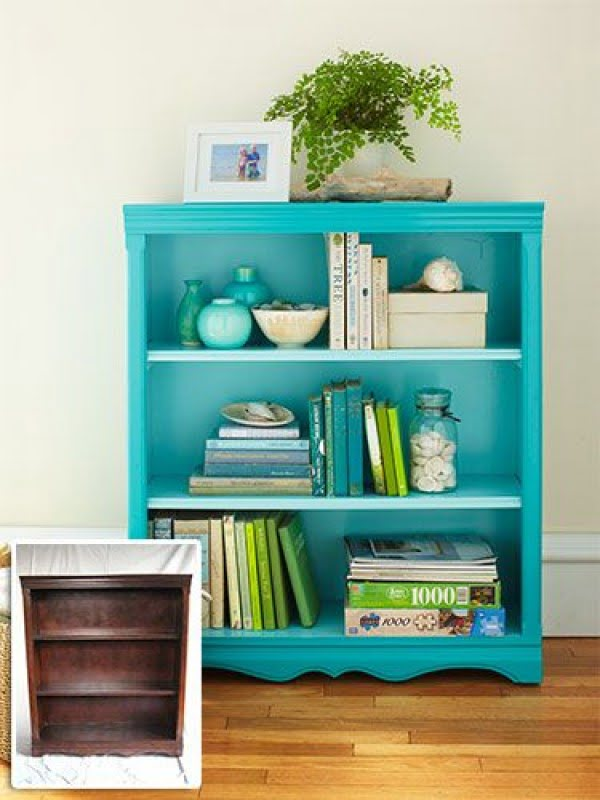 22 Easy DIY Bookshelf Ideas You Can Build at Home - Source: www.womansday.com