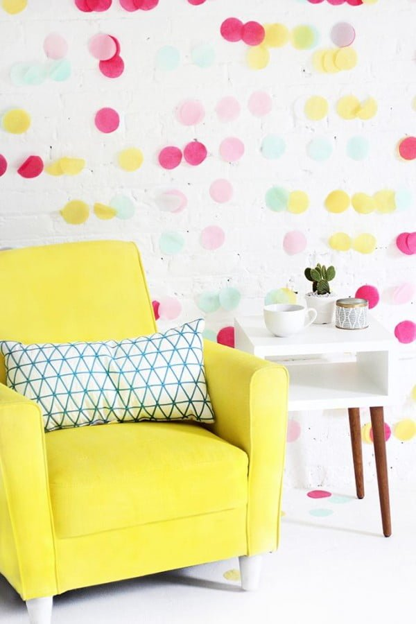 Spray Paint Fabric Furniture #homedecor