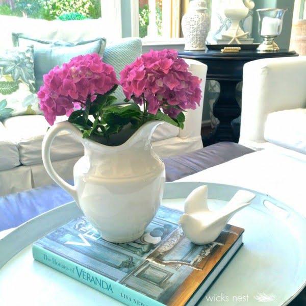 Use Unexpected Items #livingroomideas #homedecor