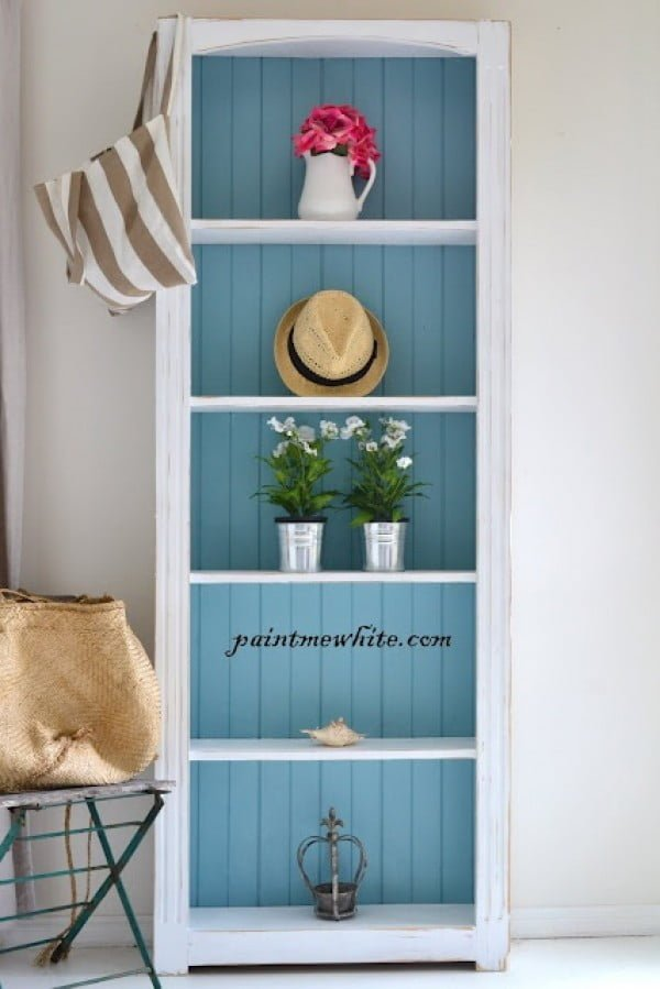 22 Easy DIY Bookshelf Ideas You Can Build at Home - Source: www.paintmewhite.com