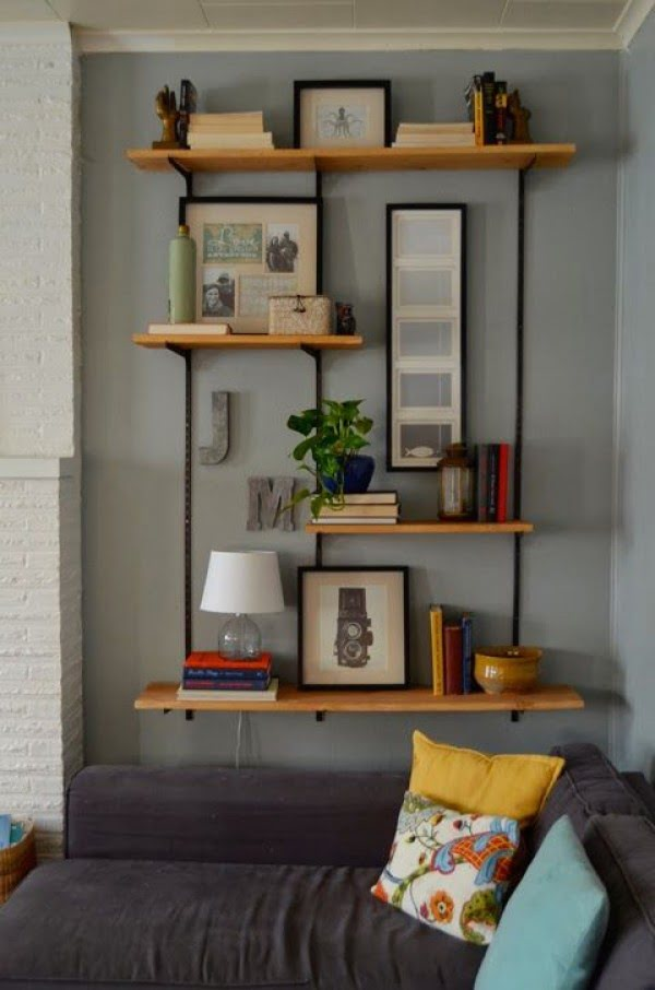 Use Bookshelves Creatively