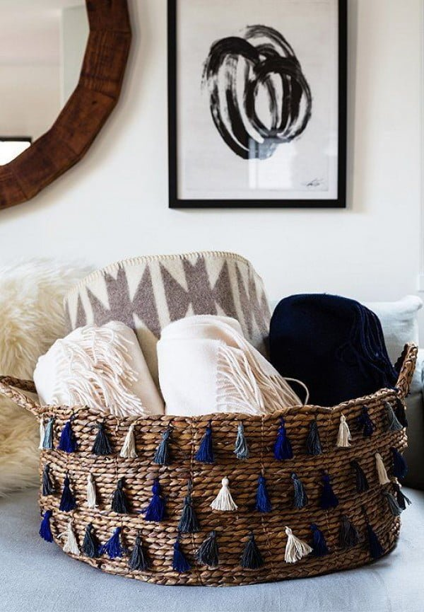 Accent Baskets #homedecor