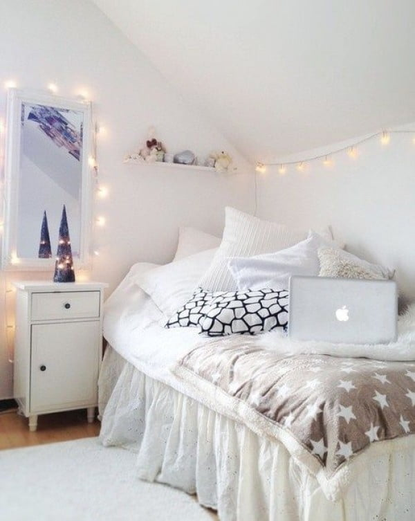 Home Decor with String Lights