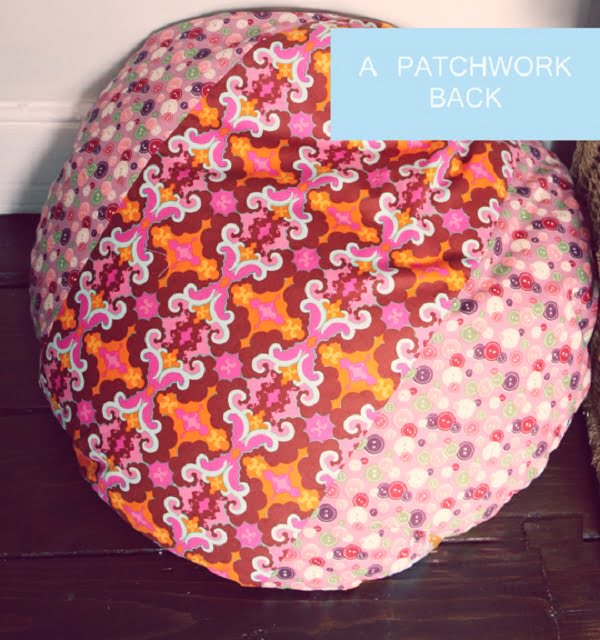 #DIY floor cushion that is easy to make and looks great! #homedecorideas