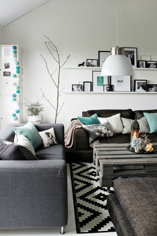 Complementing Modern Living Room Decor Accents #homedecor