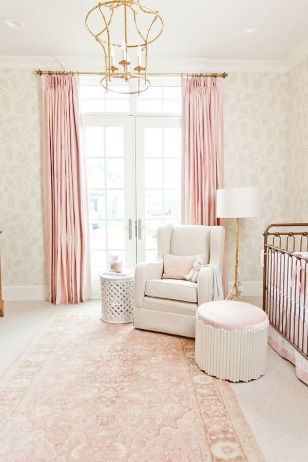 Rose Quartz Curtains