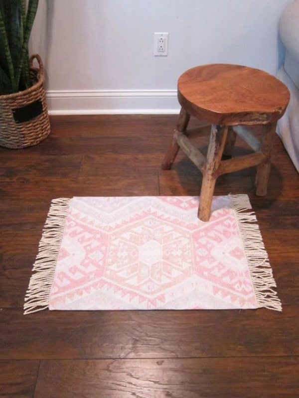 How to make a #DIY Kilim Rug