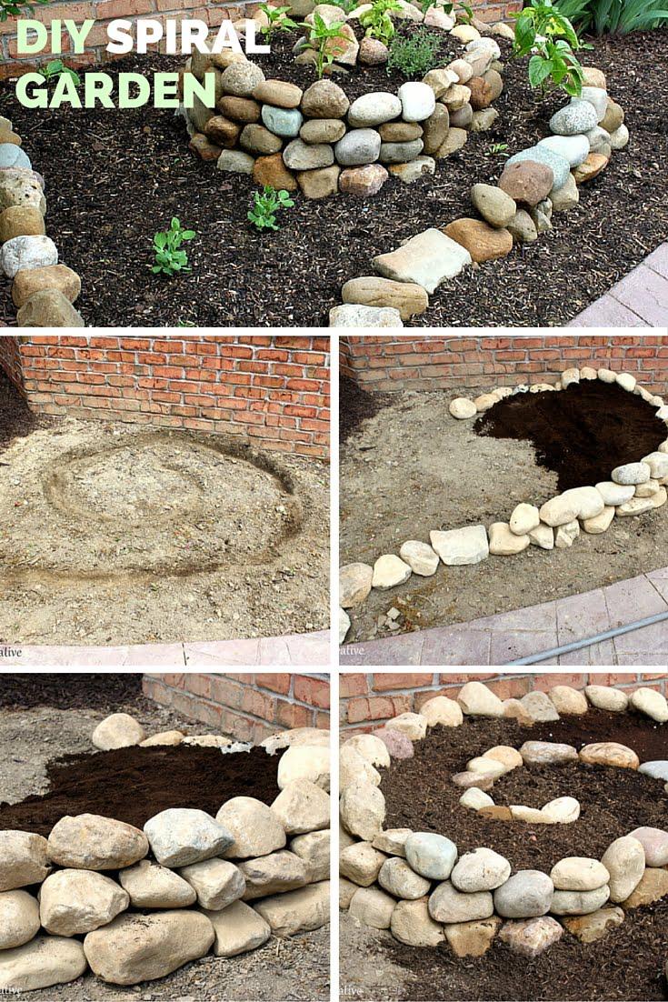 DIY Spiral Garden!