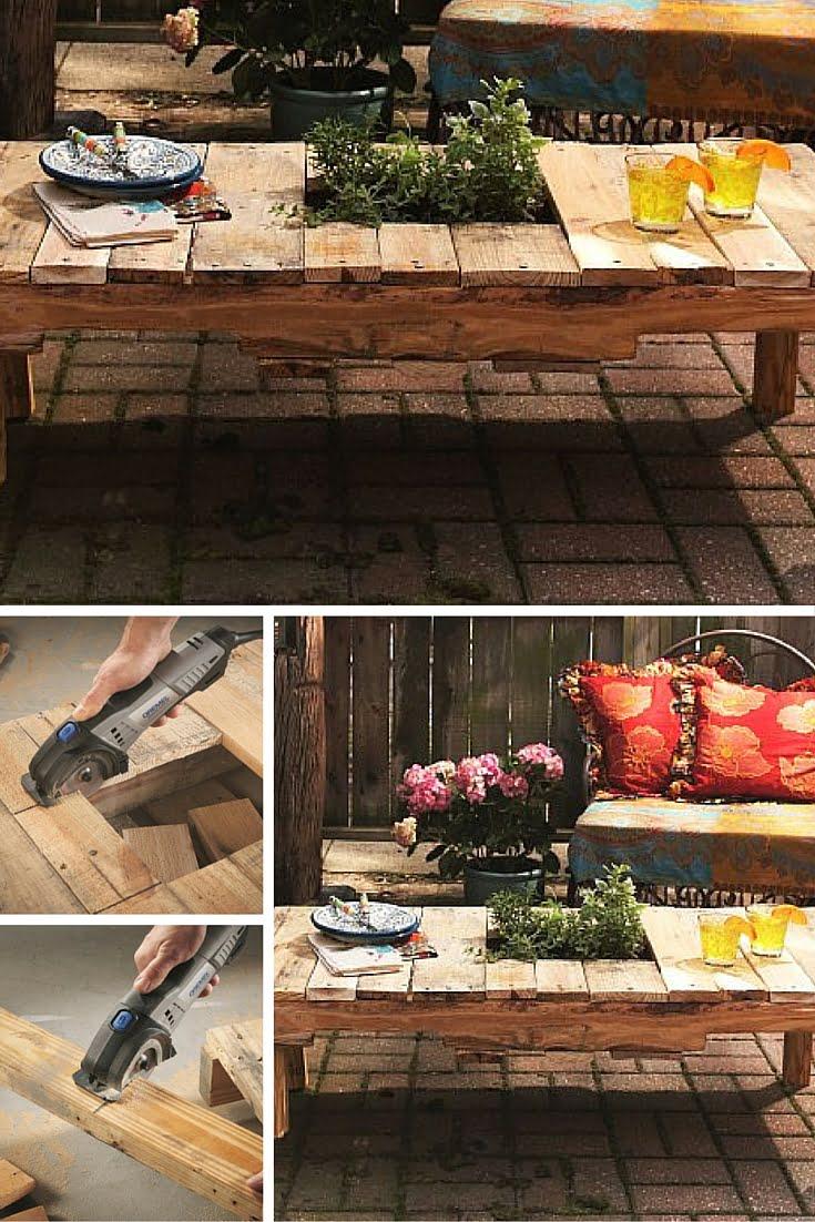 DIY Tabletop Planter!