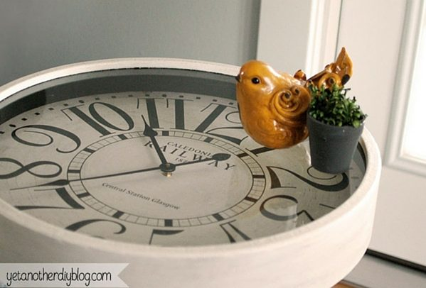 How to make  Clock End Table