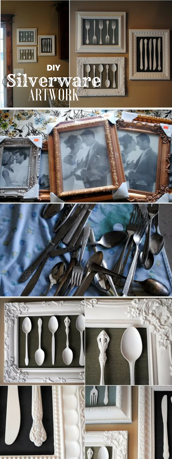 Check out the tutorial:  Silverware Artwork