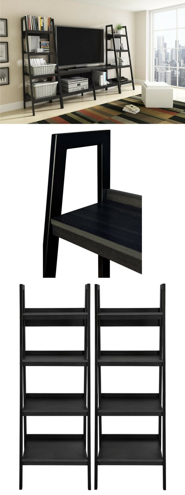 Check out the Altra Lawrence Ladder Bookcase