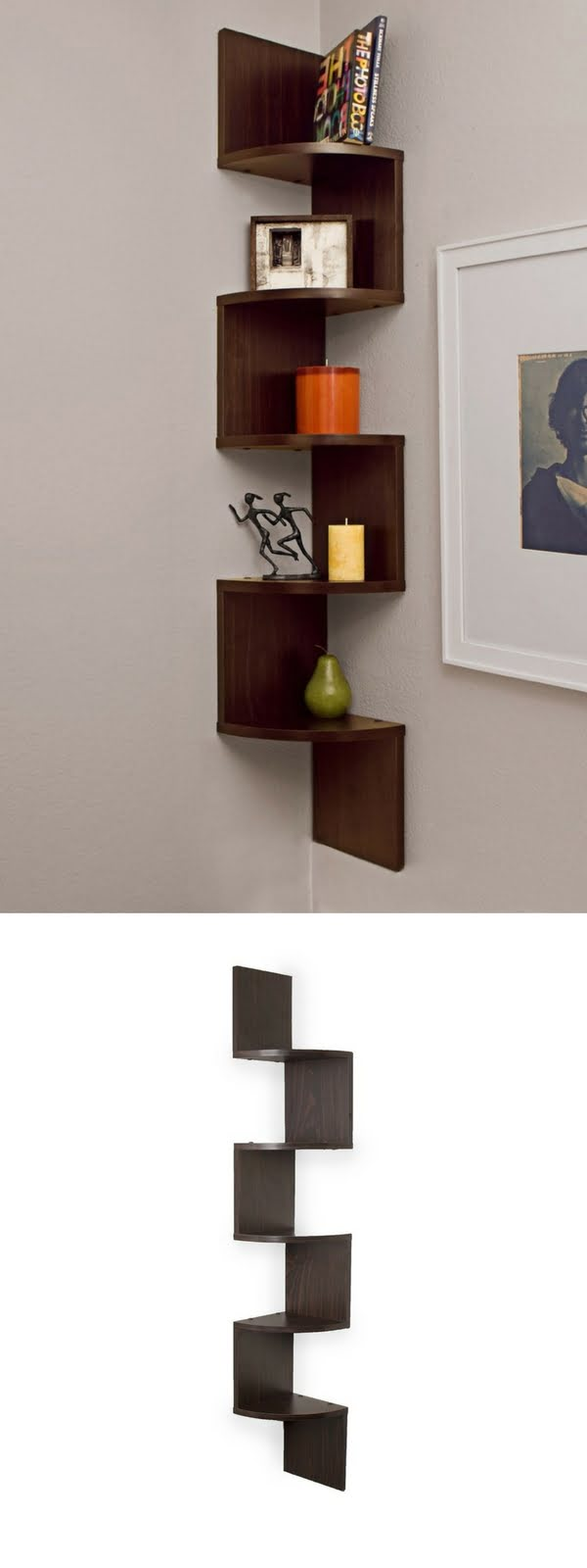 Check out the Corner Wall Mount Shelf