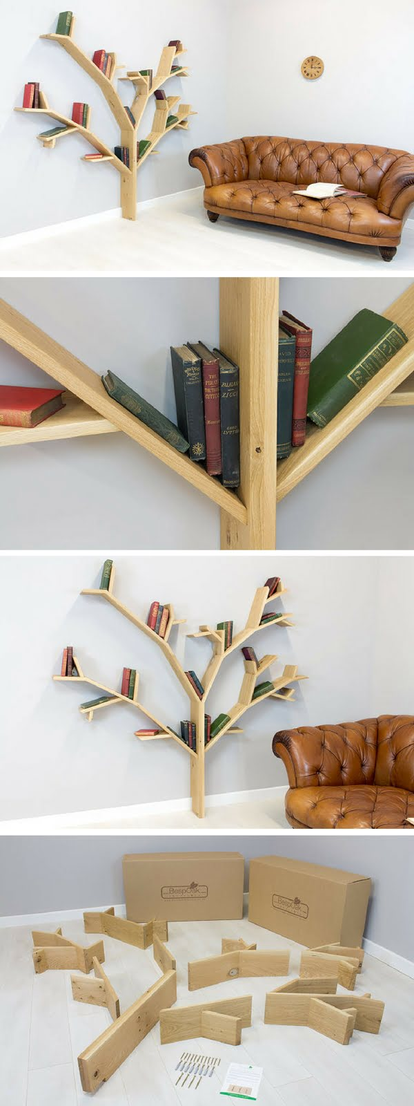 Check out the Hazel Tree Bookshelf